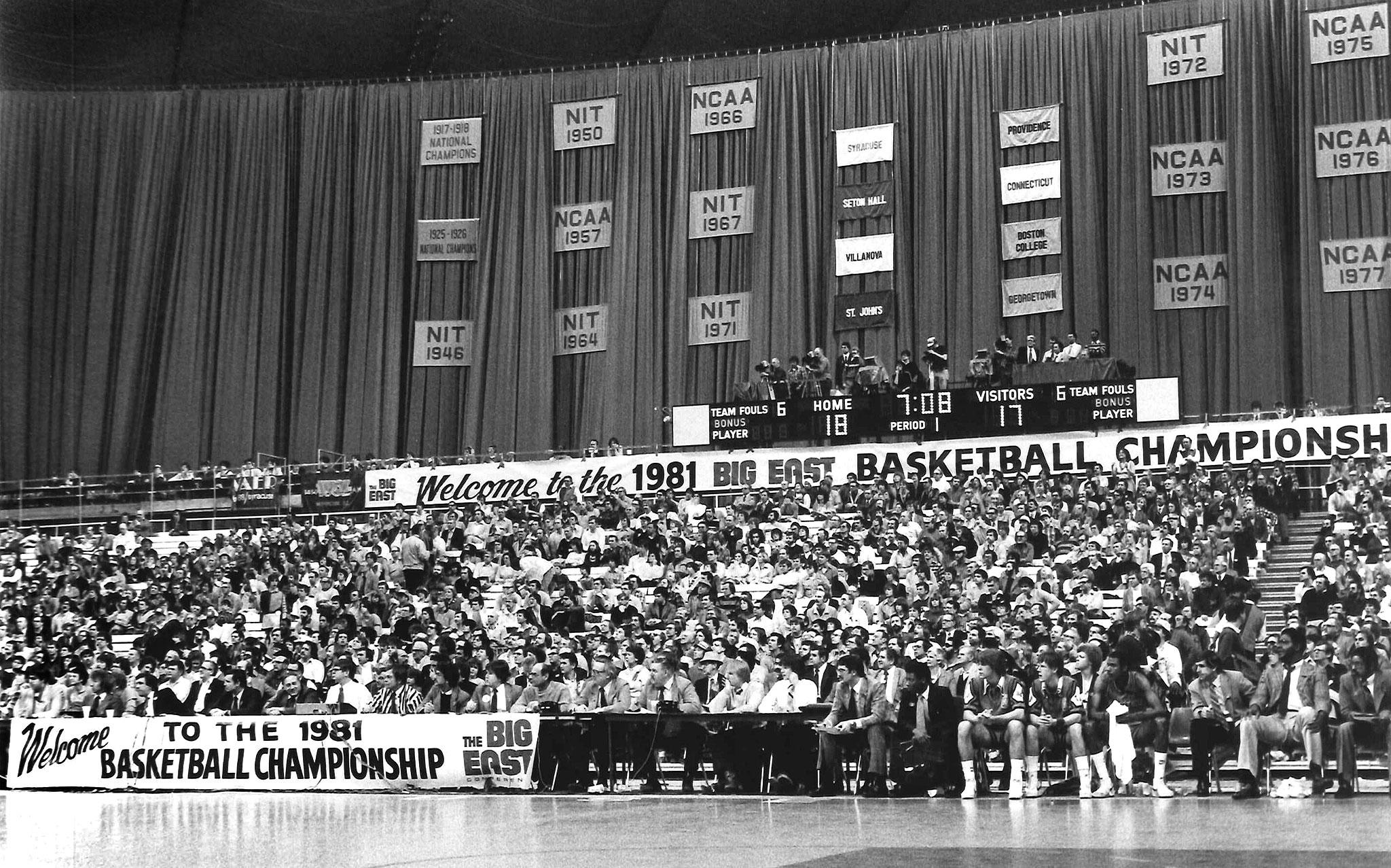 1981 Big East Championship.