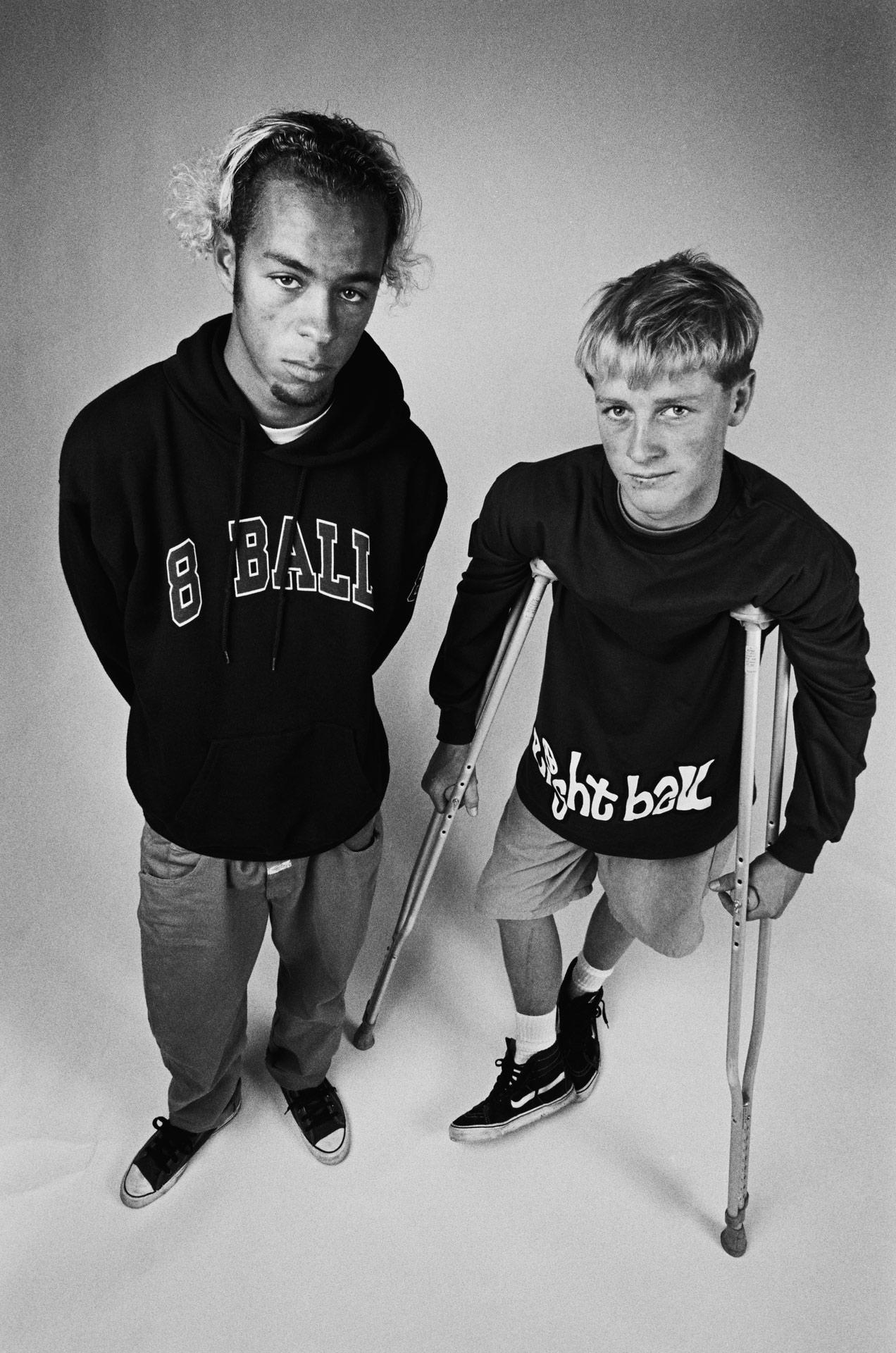 Sal Barbier and Danny Way