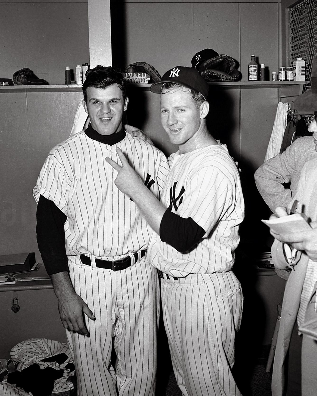 1955 Ford & Skowron