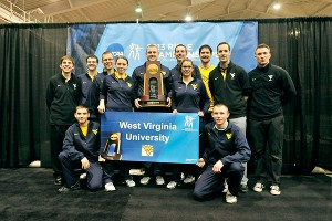 With a mix of men and women on its team, West Virginia won the NCAA team title for the 15th time.