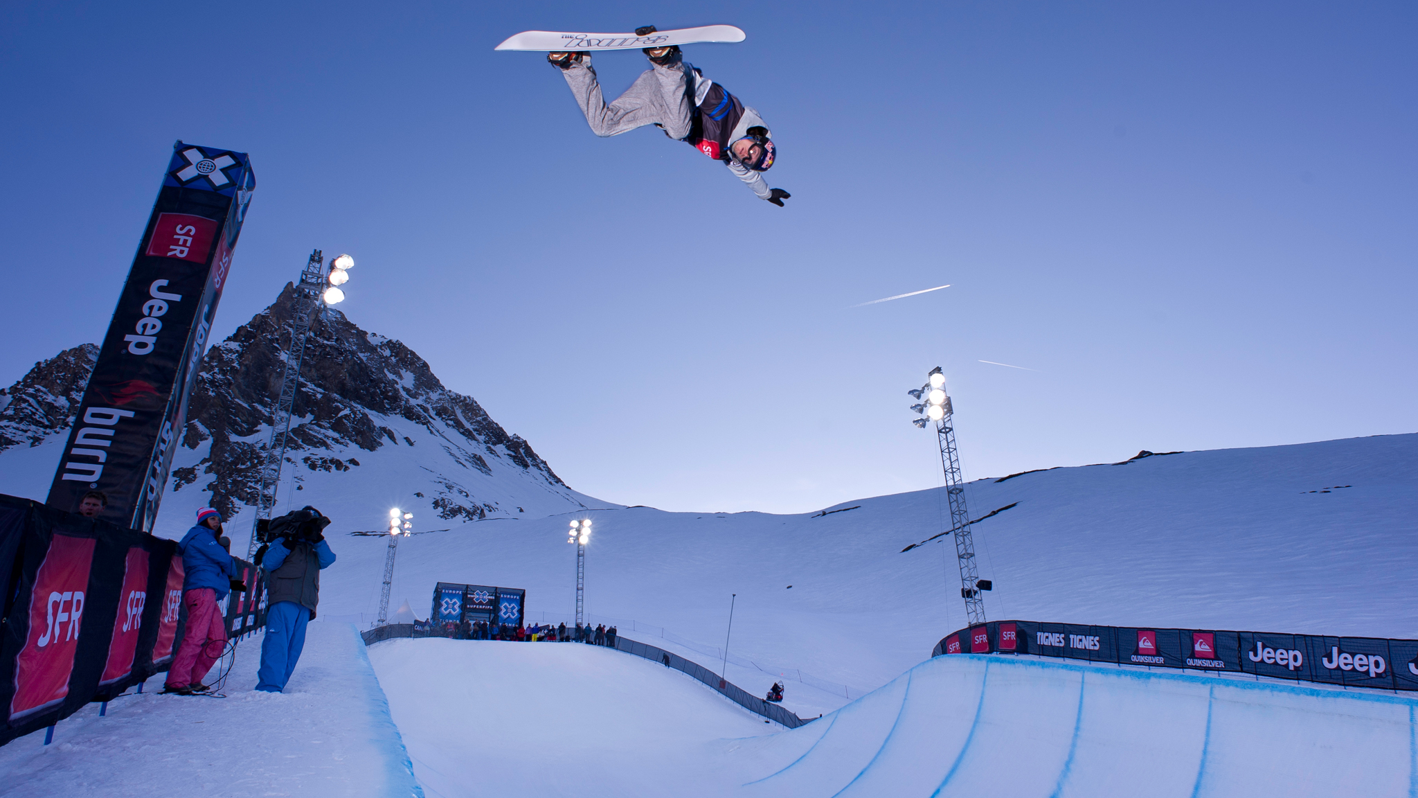 Iouri Podladtchikov didn't compete in the Men's Snowboard SuperPipe finals in Aspen due to a stomach flu. He will be a favorite this week in Tignes.