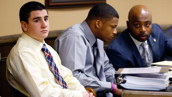 Trent Mays, left, and Ma'Lik Richmond both apologized to the victim in court this past Sunday.