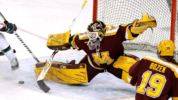 Noora Raty has 43 career shutouts but will be challenged by Boston College, which is averaging 4.36 goals per game.
