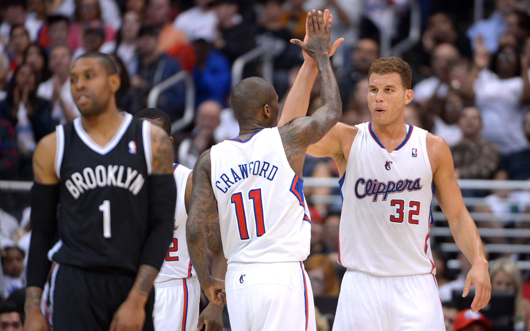 Blake Griffin and Jamal Crawford
