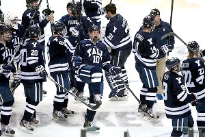 Yale beat North Dakota 4-1 on Saturday in the NCAA West Regional final to reach the Frozen Four for the first time.
