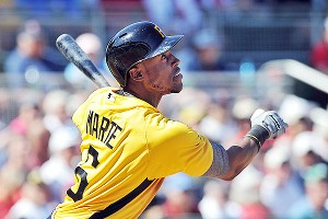 Pirates fans are hopeful Starling Marte has a Mike Trout-like season.