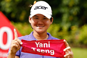 Chasing No. 1, rather than trying to live up to being No.1, has put a smile back on Yani Tseng's face.