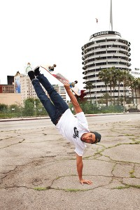 A normal day for Koston: rocket planting in Hollywood.