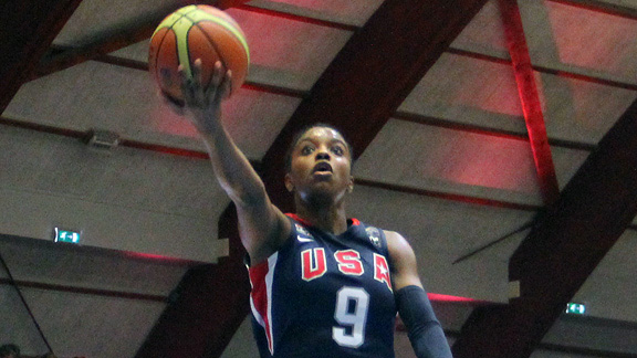 Diamond DeShields' high school career has been full of trophies, medals and glowing reviews.