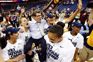Geno Auriemma, who won his first title in 1995, has won eight championships in 18 years.