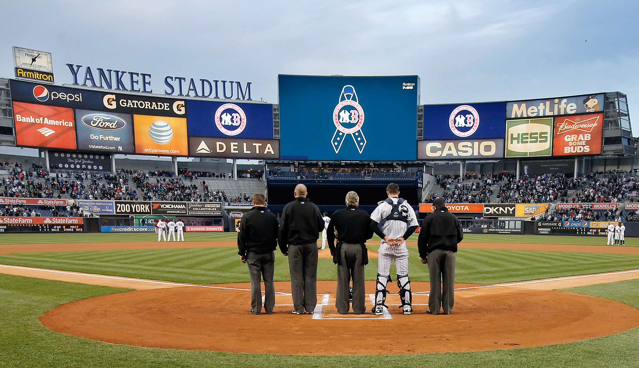 New York Mourns for Boston