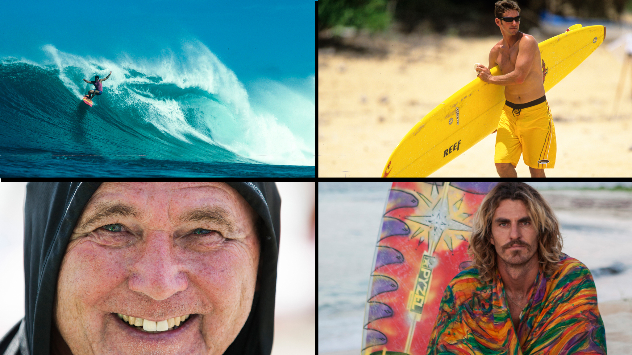 Surfing's Best Nicknames