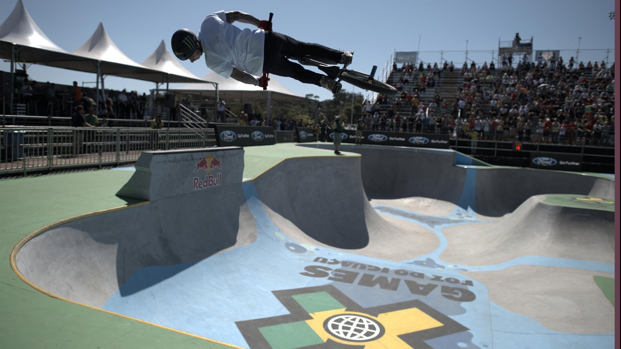Kyle Baldock conquistou o X de ouro dos X Games Foz