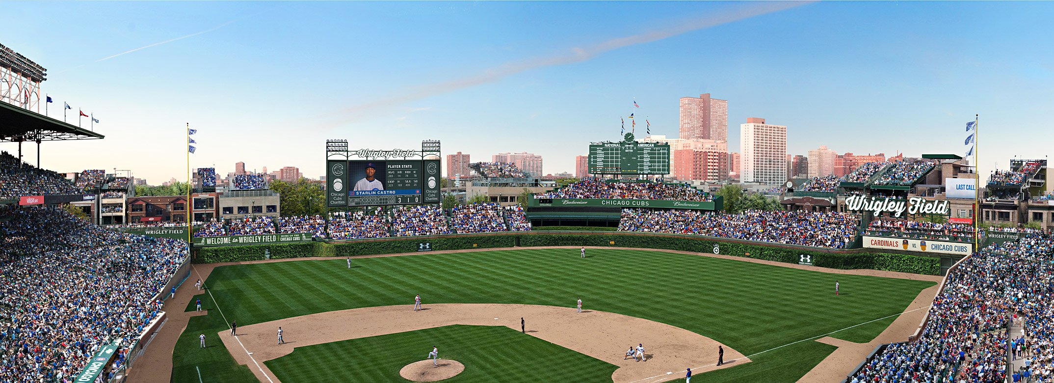 Wrigley Renderings - Panoramic Day