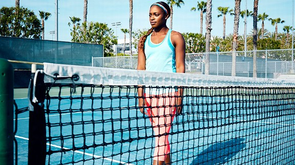 For Stephens, the shadow of the Williams sisters is just another obstacle to overcome.