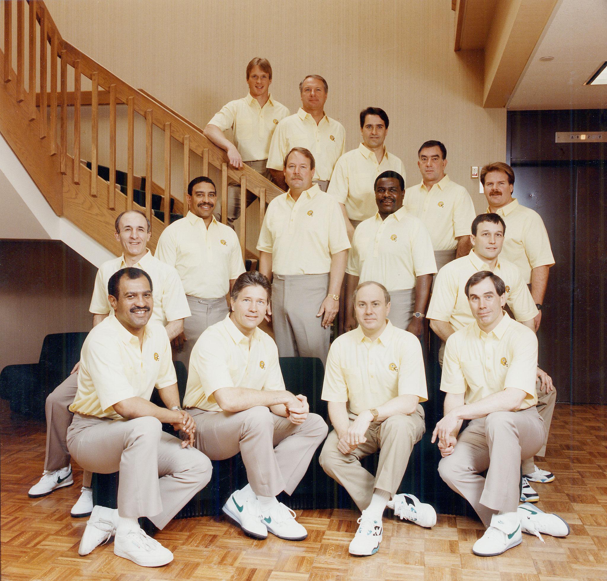 1992 Green Bay Packers Coaching Staff