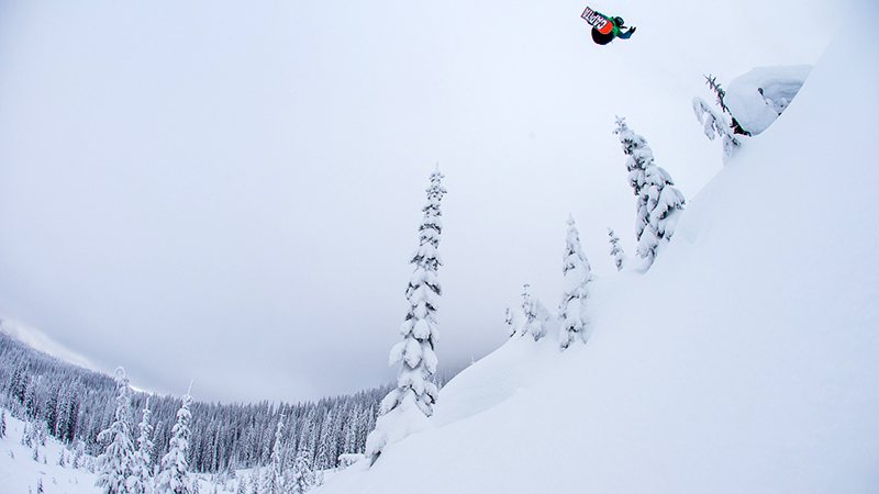 ...to the backcountry -- Jess Kimura destroys it all.
