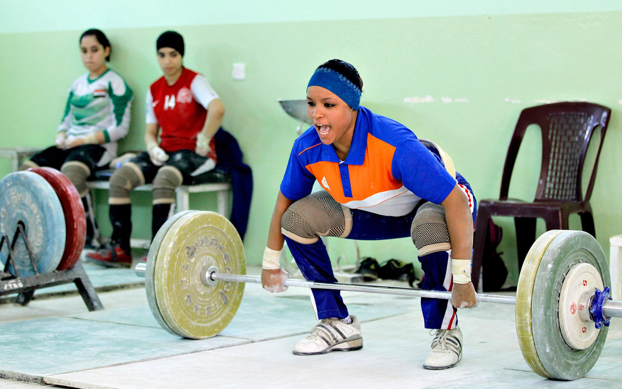 Iraqi Weightlifter