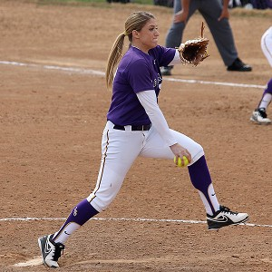 On the mound, Rachele Fico displays the competitiveness and studiousness that her father instilled in her during their countless hours of training together when she was growing up.