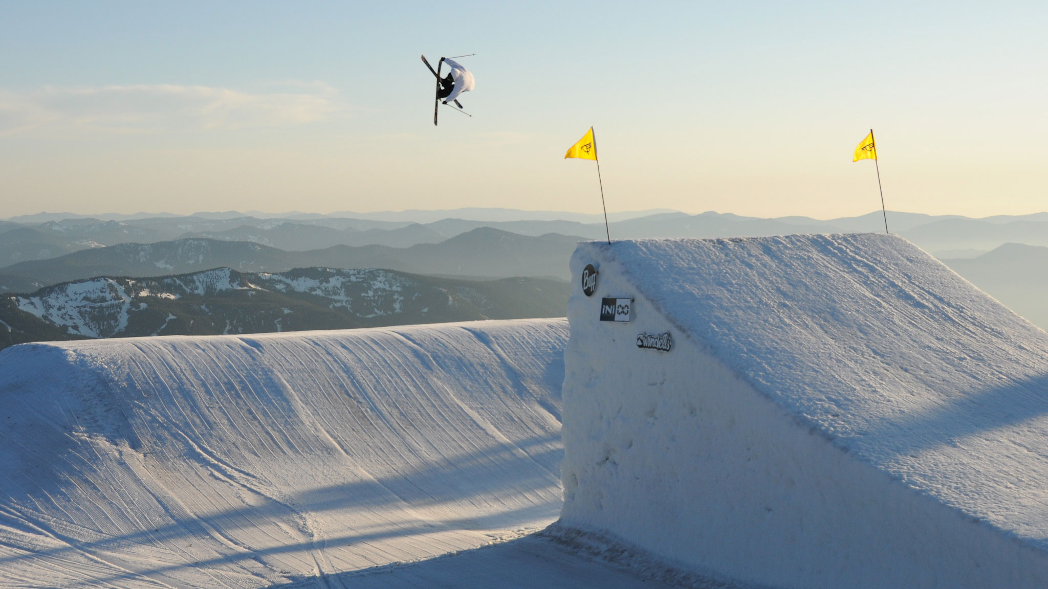 Lyman Currier at this week's West Coast Session at Mt. Hood.