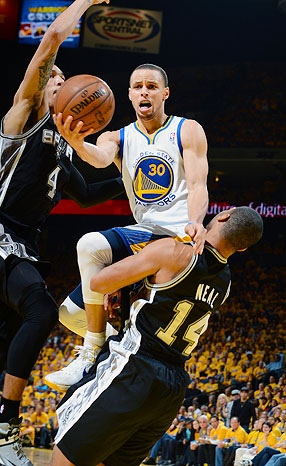 Can Stephen Curry and the Warriors overcome the long-in-the-tooth Spurs?