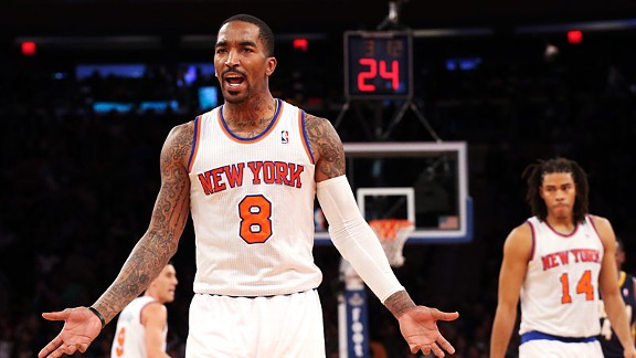 J.R. Smith has been hearing it from fans and former girlfriends alike this week.