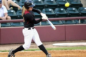 Kelly Hensley is the player the FSU coaches want at the plate in a big moment late in the game.
