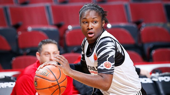 Linnae Harper was selected for USA Basketball's U-19 world championship team that will play in Lithuania in July.