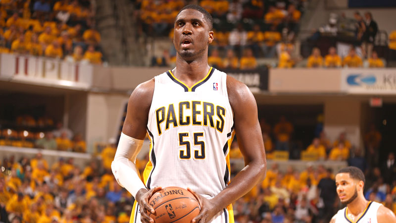 Whether he's shopping at a discount store, debating the best 90s sitcom dads or declaring his love for Buzzfeed, the Pacers big man is like your best friend on Twitter who just happens to be an NBA star.