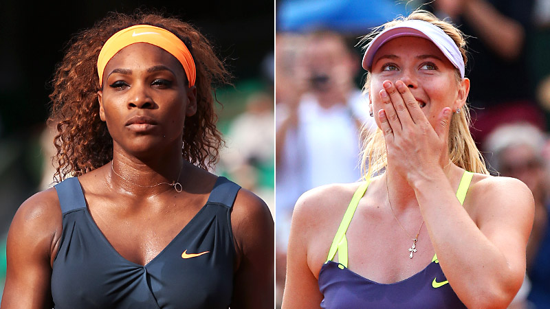After Maria Sharapova reportedly started dating Serena Williams' rumored ex-boyfriend, the gloves between the two longtime rivals came off. Serena made fun of Sharapova in a Rolling Stone interview in June, Sharapova responded by claiming Serena was dating her married coach during a Wimbledon press conference. Its been that kind of she-said, she-said back-and-forth. With Sharapova's recent comments to the New York Times about not respecting Serena off the court, this feud doesn't show any signs of stopping. (Photos: Getty Images)