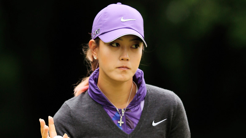 Michelle Wie cut back on her driver Saturday, and it paid off with a round of 4-under 68.