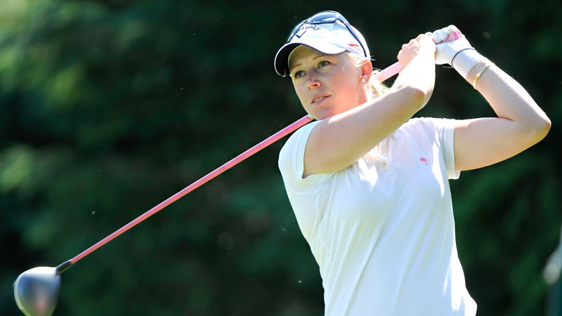 With a stellar record in Solheim play, Morgan Pressel could always be a captain's pick, but she prefers to earn a spot on the team.