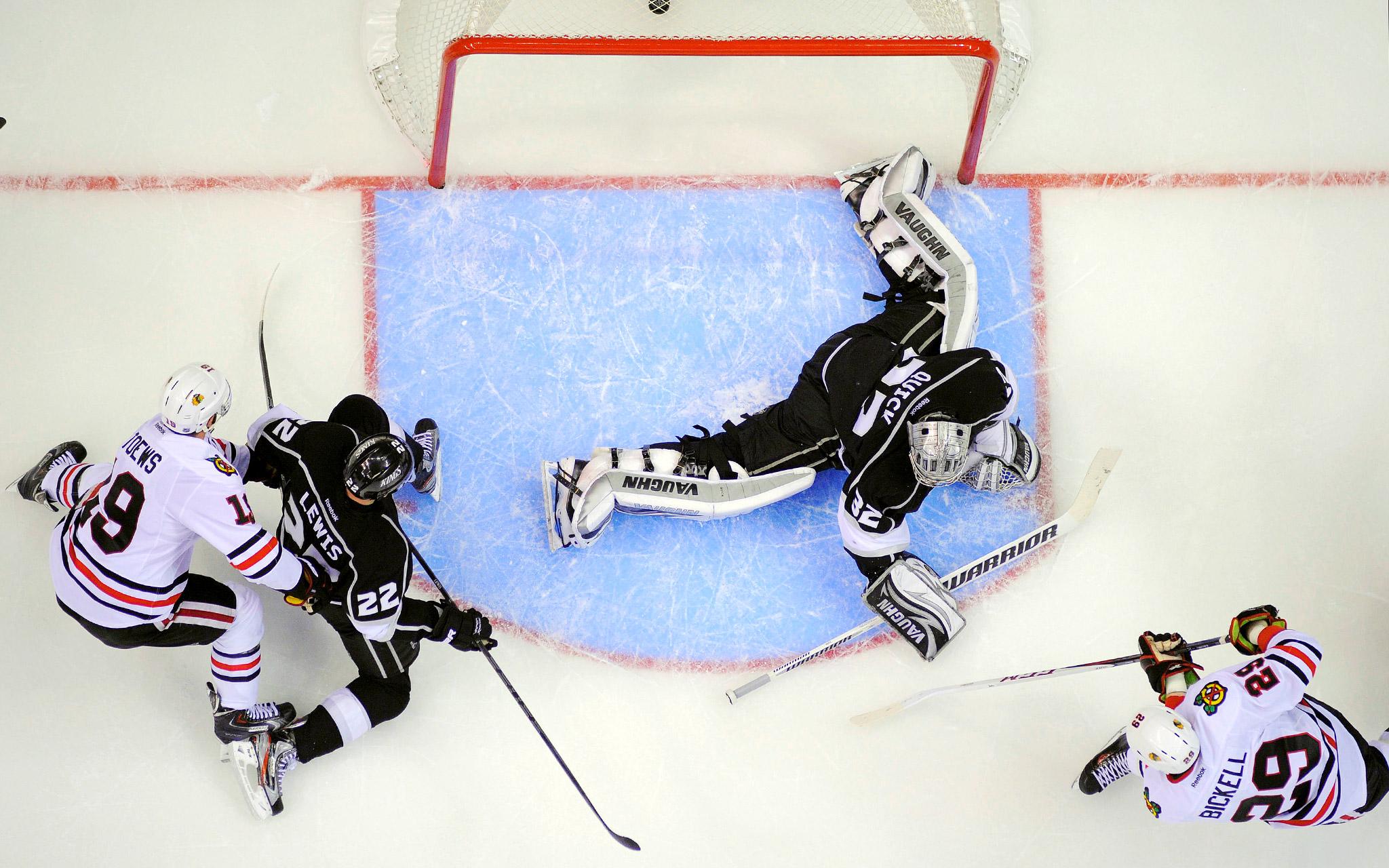 NHL PLAYOFFS LA KINGS