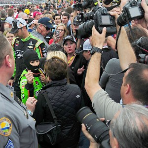 The 10-year-old girl became a phenomenon, never more evident than when she won the pole at this year's Daytona 500, stirring the throng of fans before she led the field to the start of the race.