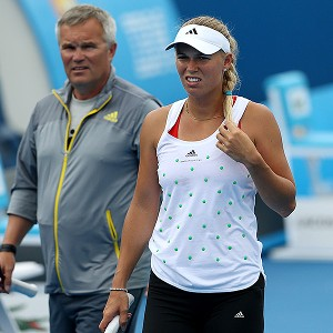 Caroline Wozniacki is seeking an outside coach, but the road has not been easy. She has won just two matches since the beginning of April.