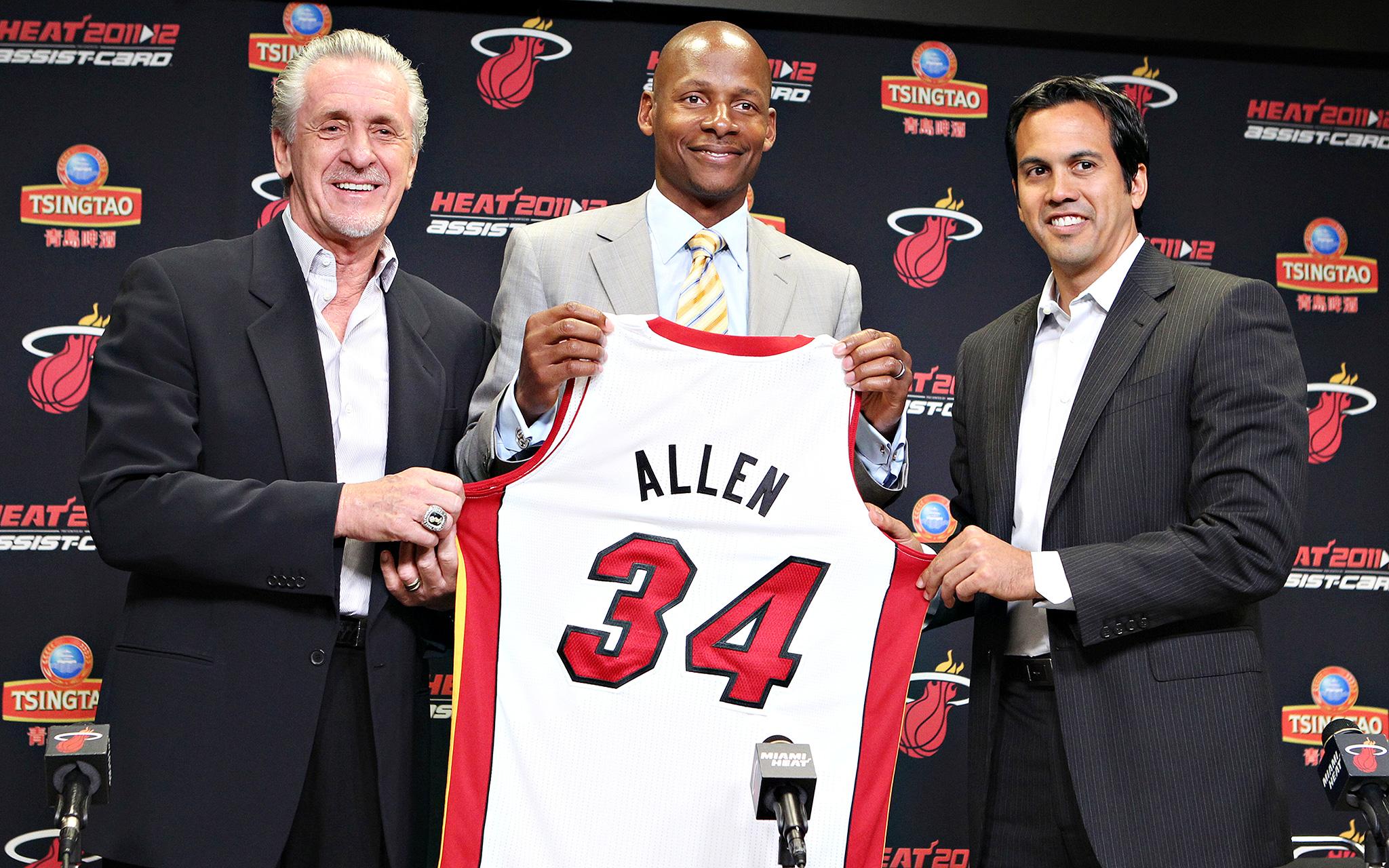 Allen Heads to Miami