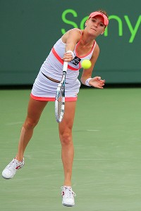 Agnieszka Radwanska already has won two singles titles this year.
