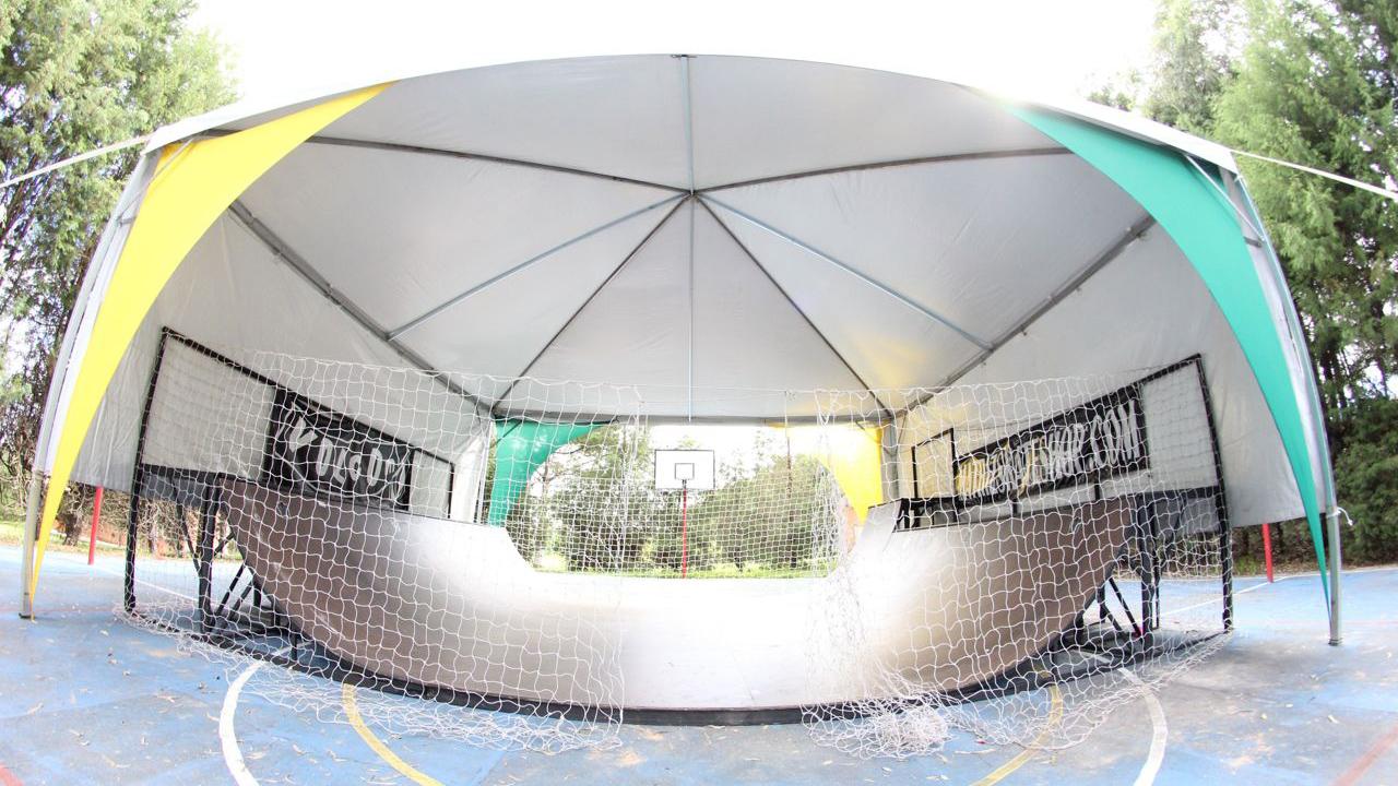 Minirrampa do Brasil Skate Camp