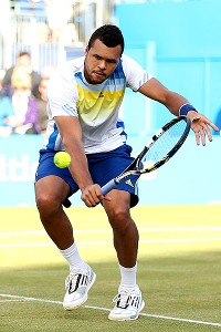 Jo-Wilfried Tsonga is a huge hitter, but that doesn't necessarily mean success at the All England Club.