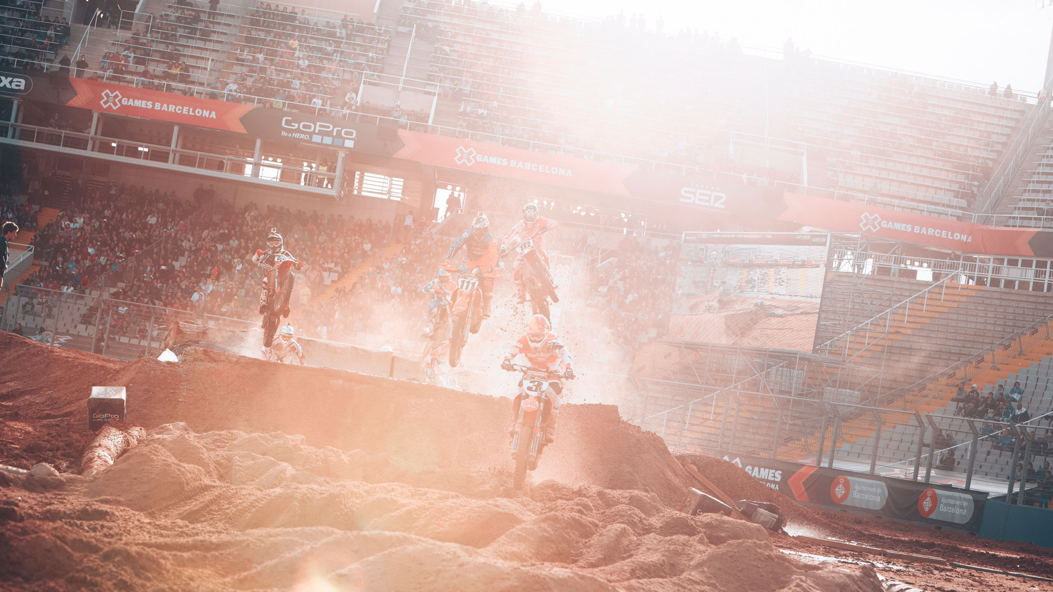 Mike Brown returned to the gold-medal spot in Men's Enduro X in Barcelona, Spain.