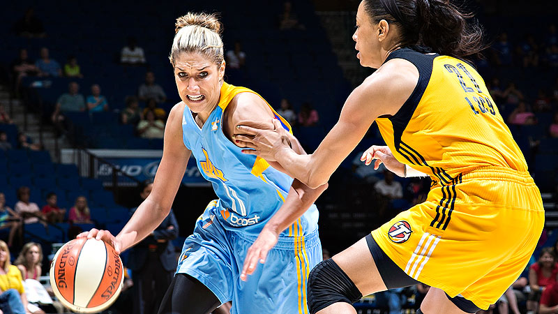 Rookie sensation Elena Delle Donne led the top-seeded Sky to their first-ever playoff berth and helped give the WNBA a big boost in attendance and interest.