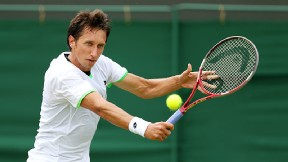 Sergiy Stakhovsky couldn't capitalize on his opportunity after beating Roger Federer at Wimbledon.