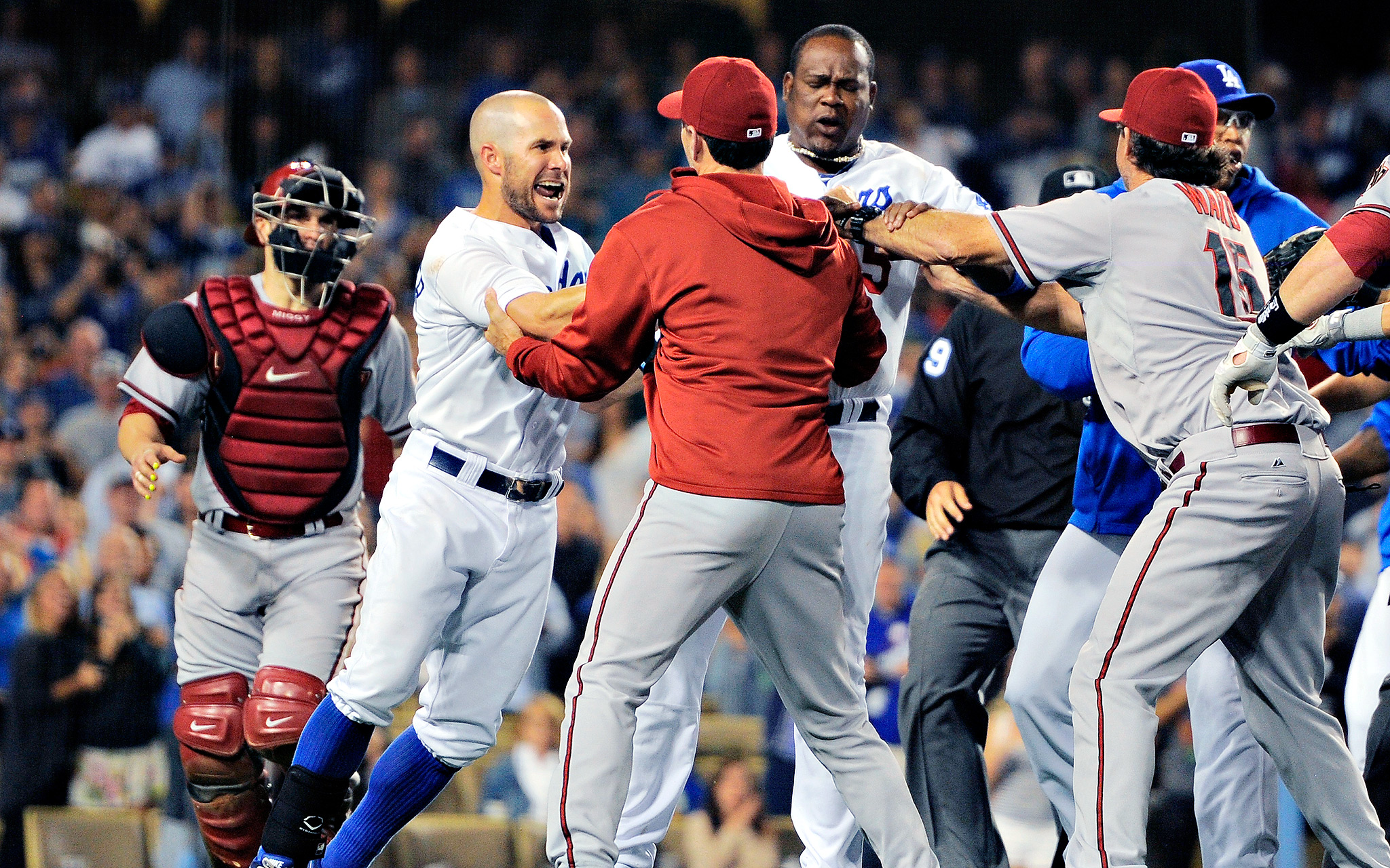 Diamondbacks-Dodgers brawl
