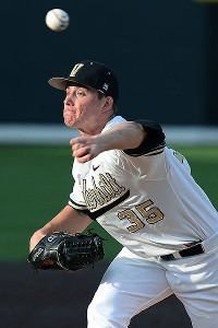 Kevin Ziomek, who was 11-3 with a 2.12 ERA for Vanderbilt, was a second-round pick of the Tigers in this year's draft.