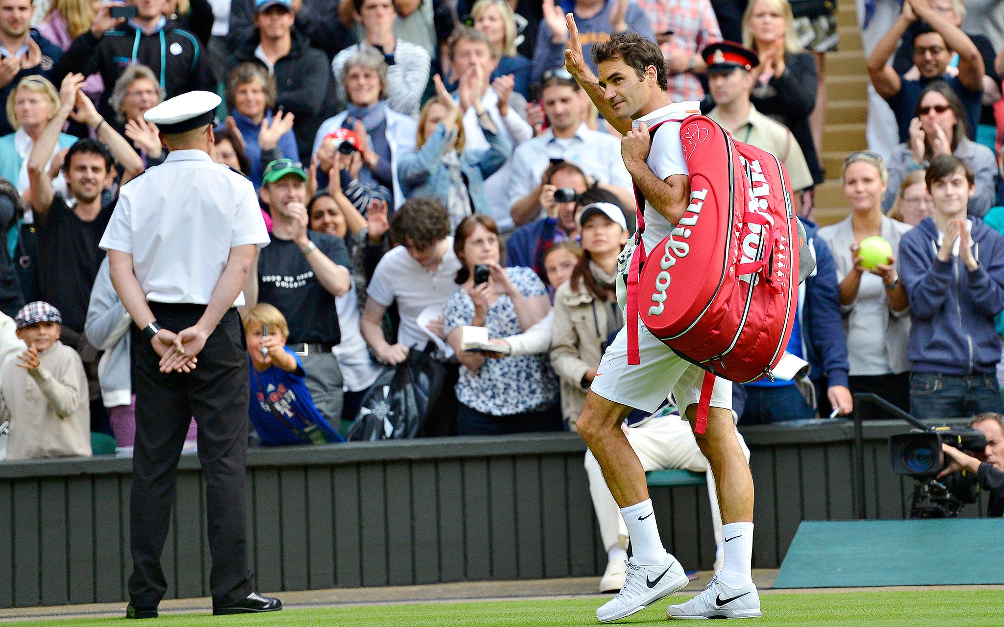 Goodbye, Federer