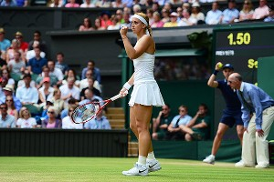 Sabine Lisicki has used her powerful serve to defeat some of the game's best returners at Wimbledon, and will face another in the final against Marion Bartoli.