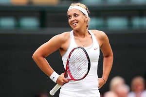 Sabine Lisicki made quick work of 46th-ranked Kaia Kanepi, dispatching her in 65 minutes.