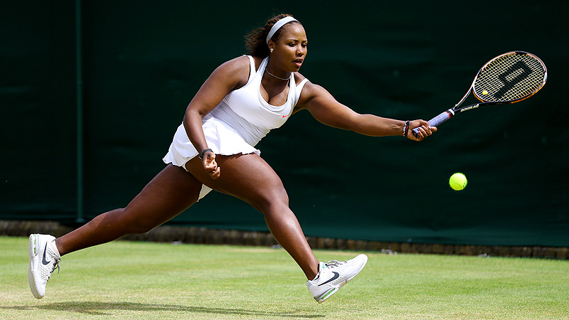 Ten months ago Taylor Townsend was suffering from severe iron deficiency, which caused fatigue.