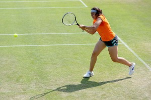 Marion Bartoli did not drop a set en route to her first Grand Slam championship.