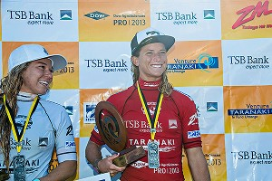 Conlogue won an event in New Zealand in April, and is in the hunt for her first title as ASP women's world champion.